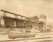 Ofenanlage und Kohlenturm, Gaswerk Wien-Leopoldau, 1911 © Historisches Archiv Krupp/Giulia Miserini