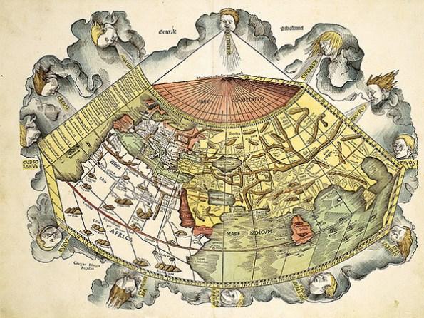 """""""Geographia"""" von Claudius Ptolemäus, Martin Waldseemüller, Straßburg, 1513"""