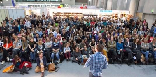 Poetry Slam auf der Buch Wien