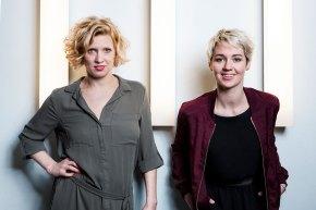 v.li.n.re. Eva Puchner und Susanne Preissl (c) Bettina Frenzel
