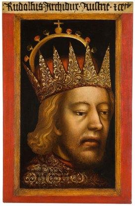 Eine Ikone im Dom Museum: Das Rudolfs-Porträt © Lena Deinhardstein, Lisa Rastl