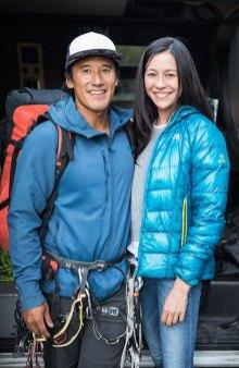 Jimmy Chin und Elizabeth Chai Vasarhelyi © National Geographic / Chris Figenshau