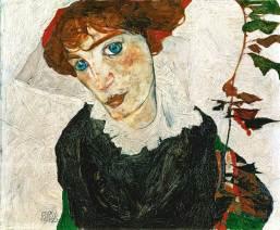 Wally von Egon Schiele © Leopold Museum, Inv. 453