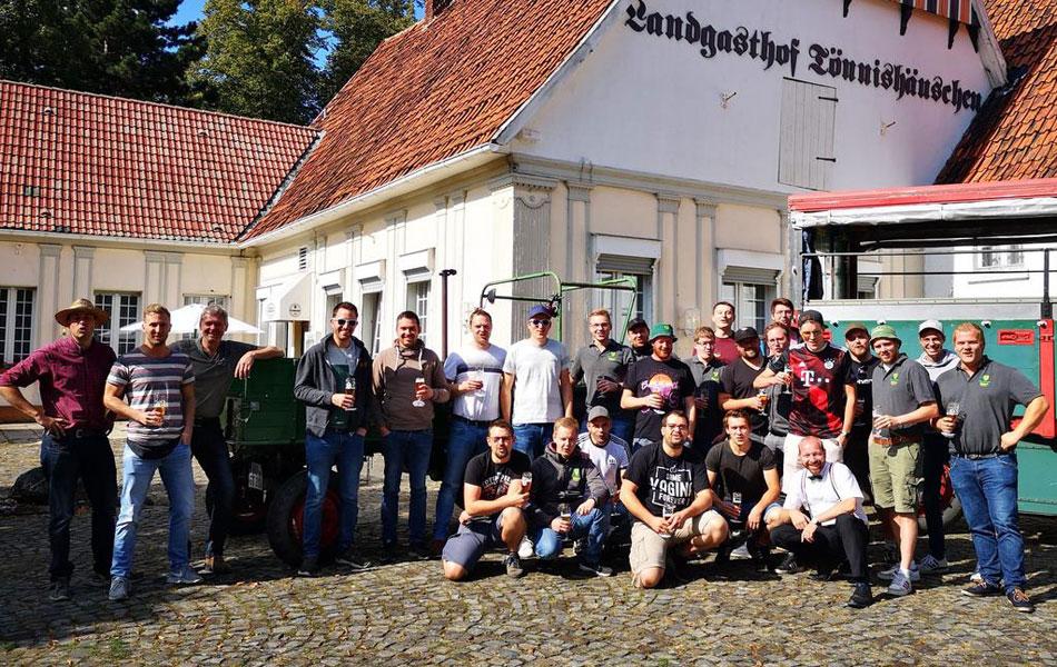 Besuch aus Raestrup