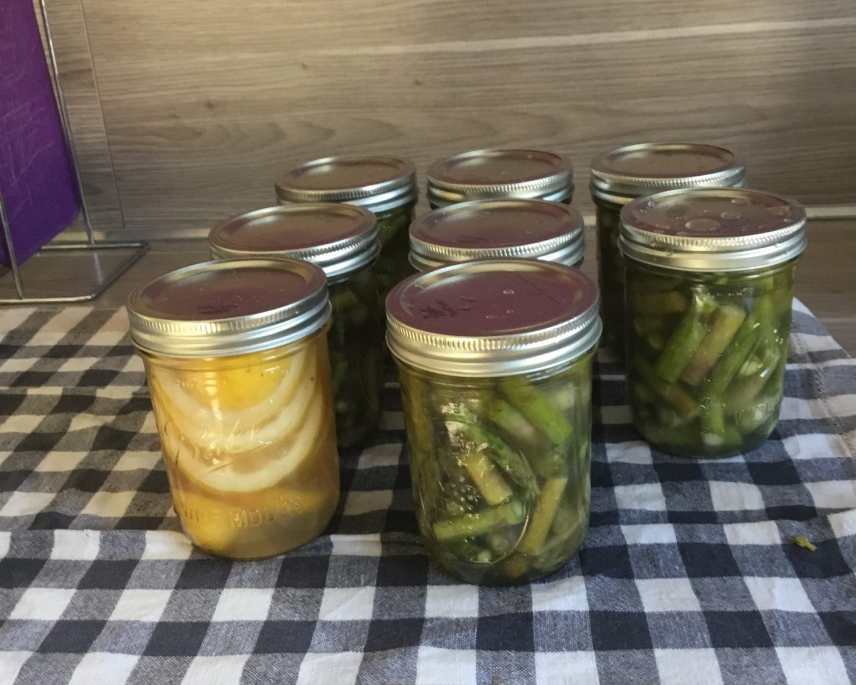 Spargel fermentieren