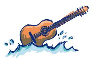 Gitarre-Innenteil
