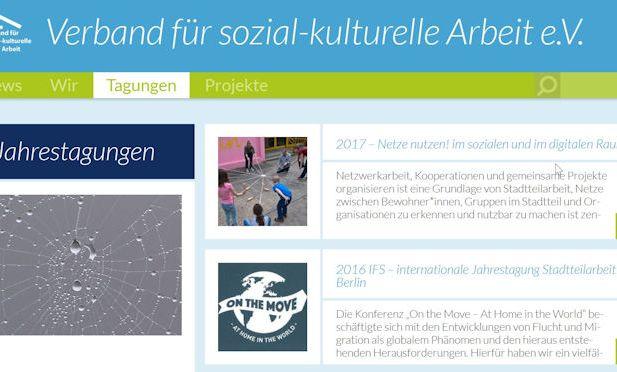 Jahrestagung Verband für sozial-kulturelle Arbeit e.V.
