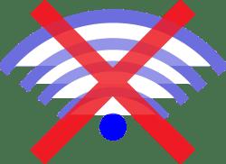 Symbol für den Offline-Modus