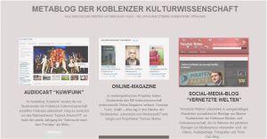 Metablog Kulturwissenschaft Koblenz