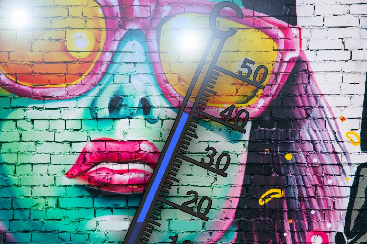 Thermometer Sommer