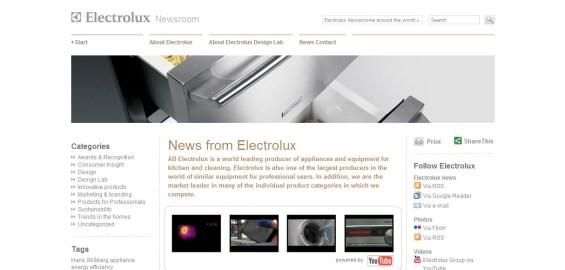 Electrolux Newsroom