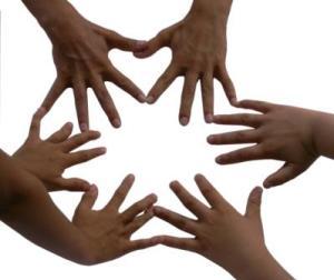verschiedene Hände