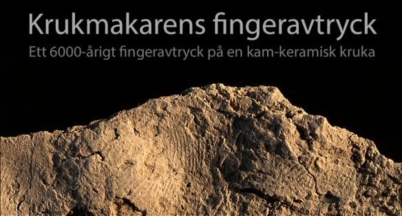 Fingeravtryck. Foto: Staffan Nygren © Norrbottens museums bildarkiv.