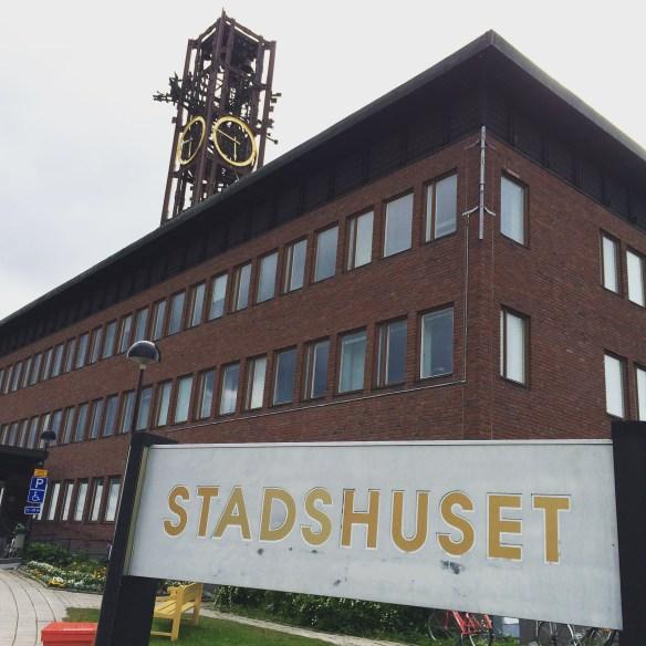 Kiruna stadshus Foto: Jennie Björklund © Norrbottens museum