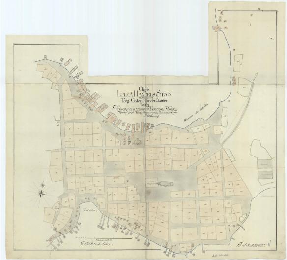 Luleå stad 1790