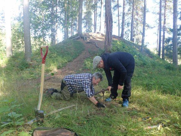 2019_61, Fördjupad arkeologisk utredning av eventuella gravhög