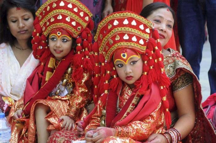 Богини кумари. Фото: yarsatreks.com