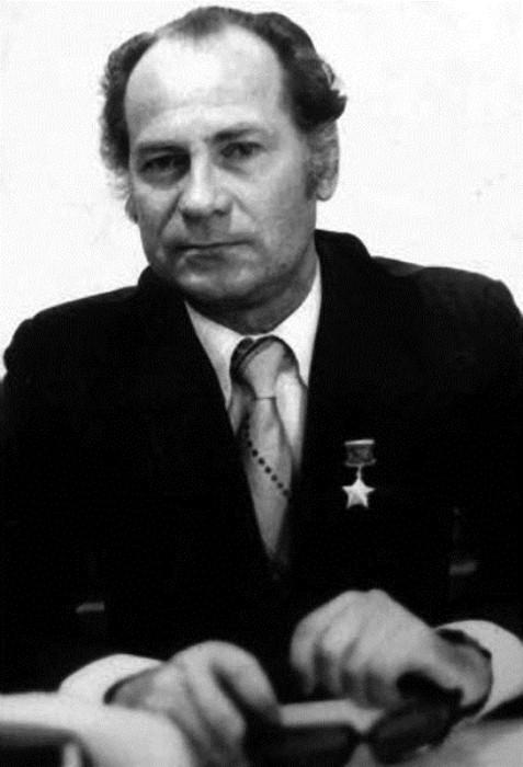 Портрет Виктора Чернышенко.