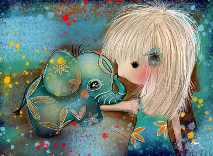 Мой новый друг. Автор: Karin Taylor.