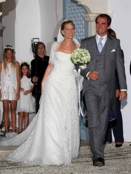 Принц Николаос из Греции и принцесса Татьяна Блатник, 2010 год.