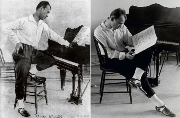 Вацлав Нижинский во время работы над балетом, 1916 | Фото: renclassic.ru