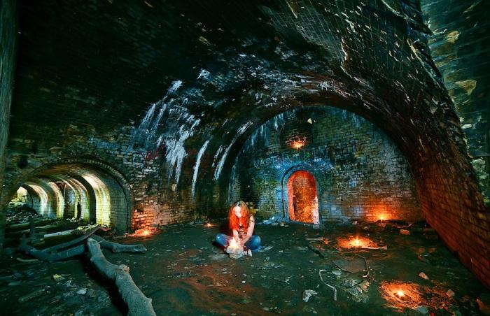 В подземельях Зеленого театра.   Фото: alexfoto.com.ua.