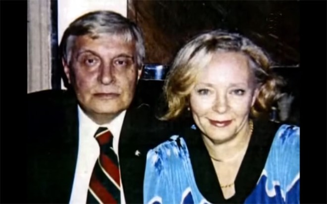 Олег Басилашвили и Галина Мшанская. / Фото: семейный архив
