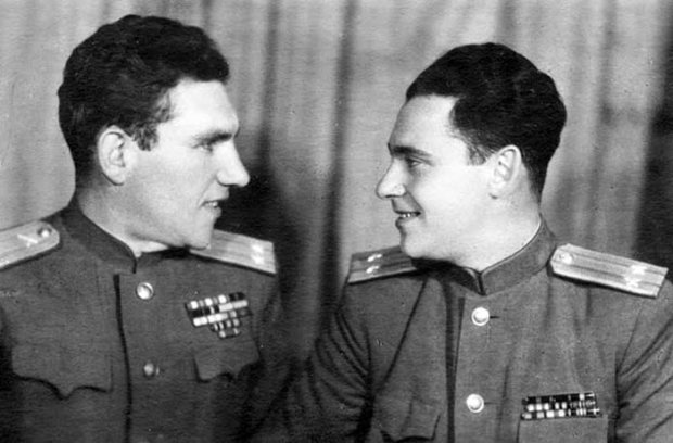 Братья Алексей и Семён Высоцкие. / Фото: www.livejournal.com