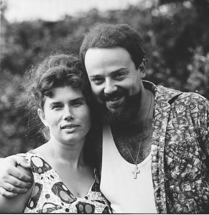 Александр Мень с женой, 1967 год. / Фото: www.alexandrmen.ru