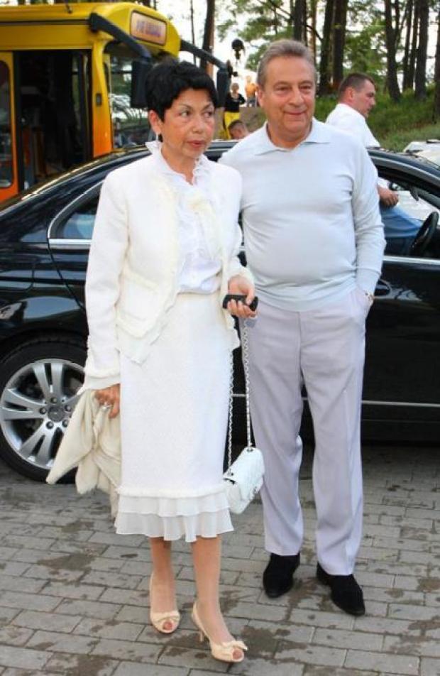 Геннадий Хазанов и Злата Эльбаум. / Фото: www.womanhit.ru