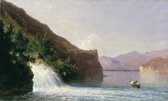 «Водопад». Автор: А.И. Мещерский.