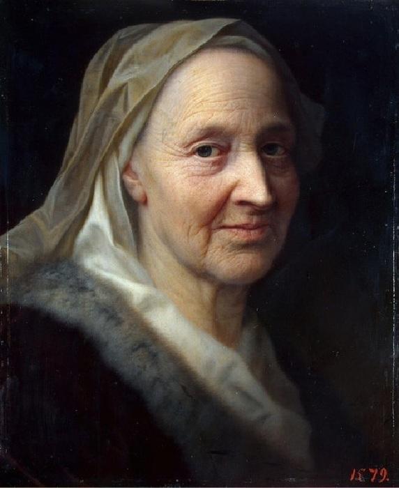 Портрет пожилой женщины. Автор: Кристиан Сейболд.
