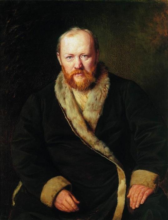Портрет Александра Николаевича Островского. (1871). Автор: В.Перов.