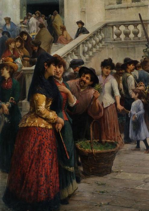 Сценки из итальянской жизни от Дзонаро.