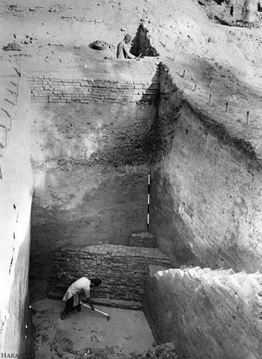 Следы естественного угасания цивилизации или смертельной эпидемии обнружены не были. Фото 1950 г./harappa.com