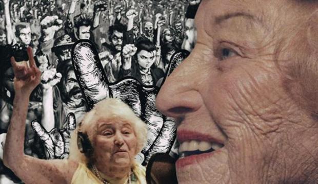 Лидера дэт-метал группы вдохновляют жуткие истории из ее жизни и воспоминания о Холокосте. /Фото:stmegi.com