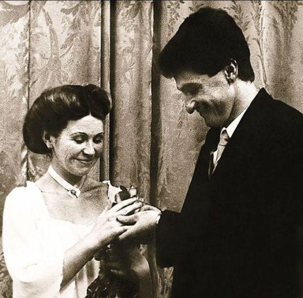 Михаил Турецкий с первой женой Еленой. / Фото: www.7days.ru