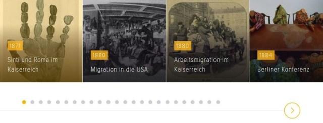 Zeitleiste Migrationsgeschichte Deutschland