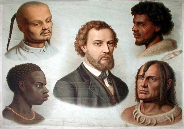 Hautfarben Stereotype Kolonialismus
