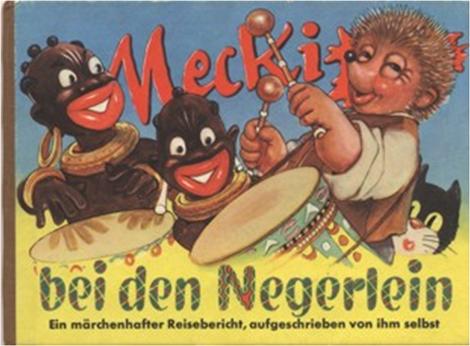 kolonial rassisitische Bilder im Bilderbüchern 1956