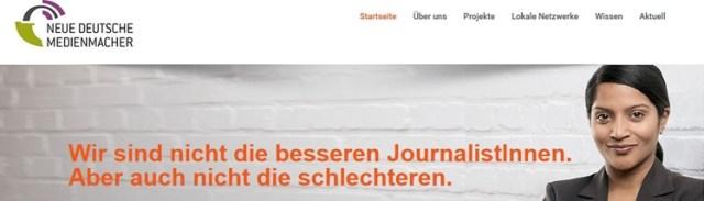 Neue deutsche Medienmacher braucht das Land