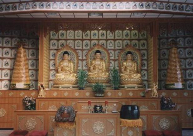 Buddhistischer Tempel in Berlin