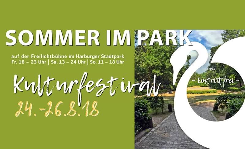 SOMMER im PARK | Kulturfestival im Harburger Stadtpark