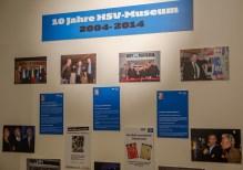 Jubiläum des HSV-Museums. Seit 10 Jahren gibt es das Museum.
