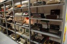 electrum - das Museum der Elektrizität: Dort werden Designstücke und skurrile Alltagsgegenstände präsentiert: Schreibmaschinen.