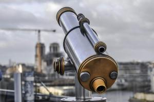 未来を見通せる望遠鏡が欲しい!