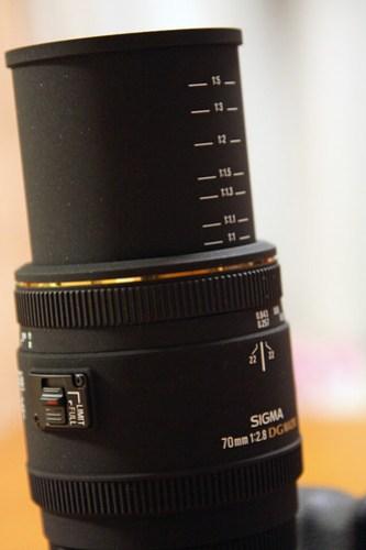 SIGMA 70mm F2.8 DG MACRO