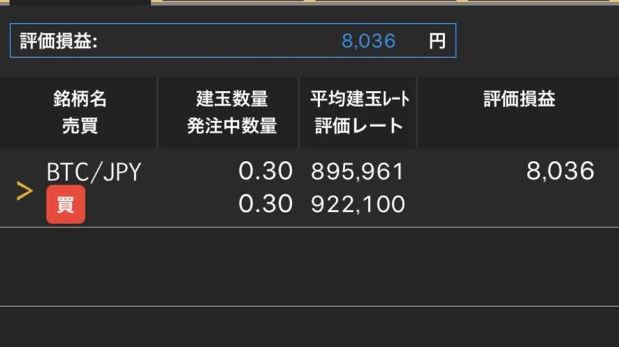 《第4回≫ BTCFX 7万円の壁