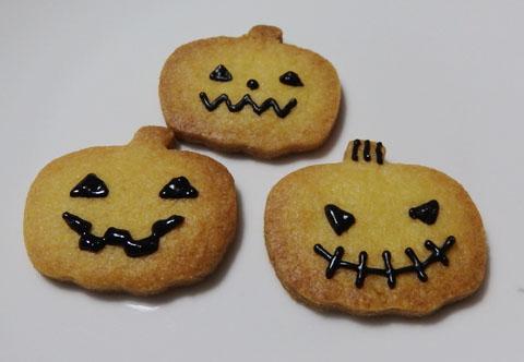ハロウィン アイシングクッキー