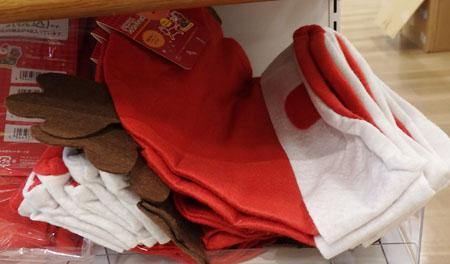 セリア クリスマス 帽子
